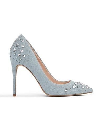 Aldo İnce Topuklu Abiye Ayakkabı Mavi